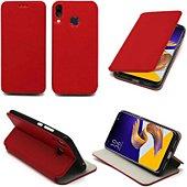 Housse Xeptio Asus Zenfone 5 Etui rouge