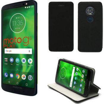 Xeptio Motorola Moto G6 PLAY Etui noir