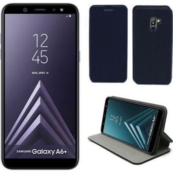 Xeptio Samsung Galaxy A6 2018 Etui bleu