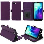 Housse Xeptio Honor 10 portefeuille violet