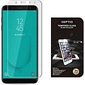 Protège écran Xeptio Samsung Galaxy A6 2018 verre trempé