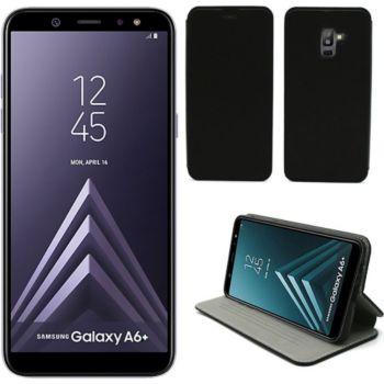 Xeptio Samsung Galaxy A6 Plus 2018 Etui noir