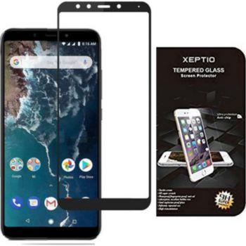 Xeptio Xiaomi Mi A2 verre trempé noir