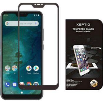 Xeptio Xiaomi Mi A2 LITE verre trempé noir