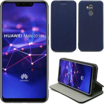 Xeptio Huawei Mate 20 LITE Etui bleu Slim