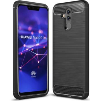 Xeptio Huawei Mate 20 LITE carbone noir