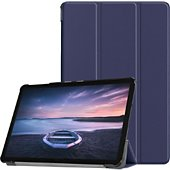 Housse Xeptio Samsung Galaxy Tab S4 Etui bleu Slim