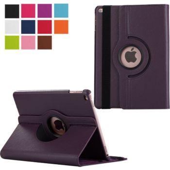 Xeptio New iPad 9,7 2018 Etui rotatif violet
