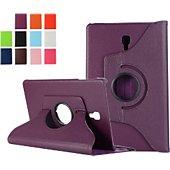 Housse Xeptio Samsung Galaxy Tab A 10,5 rotatif violet