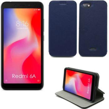Xeptio Xiaomi Redmi 6A Etui bleu Slim