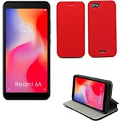 Housse Xeptio Xiaomi Redmi 6A Etui rouge Slim