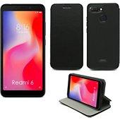 Housse Xeptio Xiaomi Redmi 6 Etui noir
