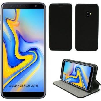 Xeptio Samsung Galaxy J6 PLUS 2018 Etui noir