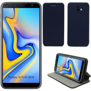 Xeptio Samsung Galaxy J6 PLUS 2018 Etui bleu