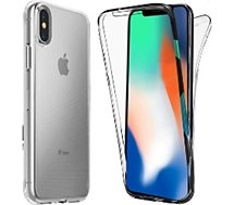 Coque Xeptio  Apple iPhone XS gel tpu intégrale