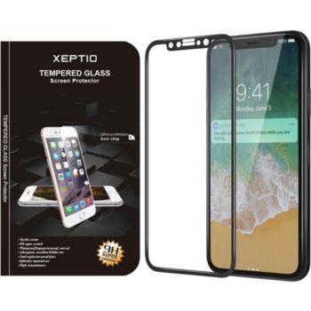 Xeptio Apple iPhone XR verre trempé noir