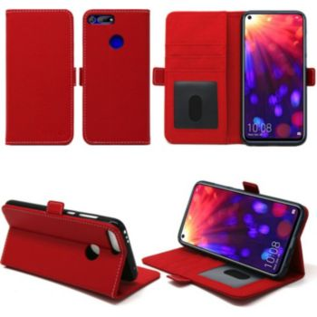 Xeptio Huawei Honor View 20 portefeuille rouge