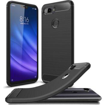 Xeptio Xiaomi Mi 8 LITE carbone noir