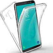 Coque Xeptio Samsung Galaxy A6 Plus gel intégrale
