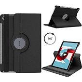 Housse Xeptio HUAWEI MediaPad M5 10,8 PRO rotatif noir