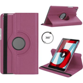 Xeptio HUAWEI MediaPad T5 10 rotatif violet