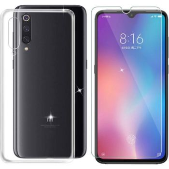 Xeptio Xiaomi Mi 9 (Mi9) gel tpu et vitre