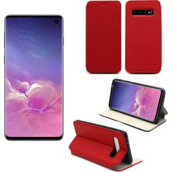 Xeptio Samsung Galaxy S10 Etui rouge Slim