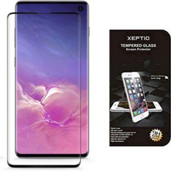 Xeptio Samsung Galaxy S10 vitre noir