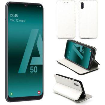 Xeptio Samsung Galaxy A50 Etui blanc Slim