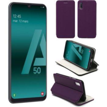 Xeptio Samsung Galaxy A50 Etui violet Slim
