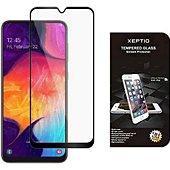 Protège écran Xeptio Samsung Galaxy A50 vitre noir
