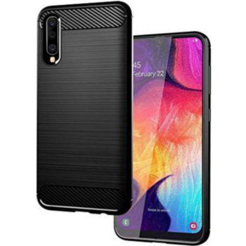 Xeptio Samsung Galaxy A50 carbone noir