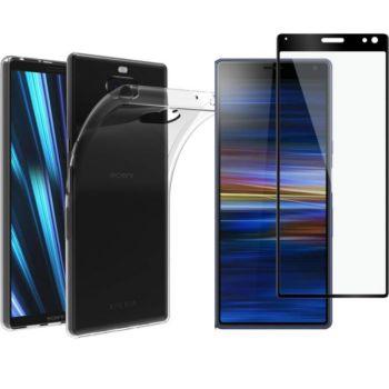 Xeptio Sony Xperia 10 gel tpu et full noir