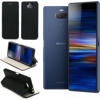 Xeptio Sony Xperia 10 Plus Etui noir