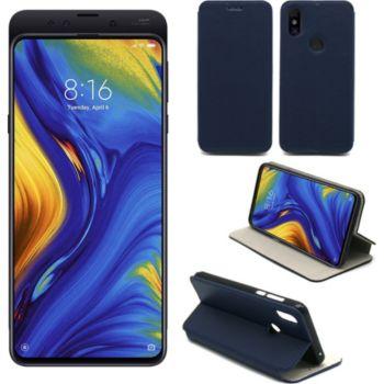 Xeptio Xiaomi Mi Mix 3 Etui bleu Slim