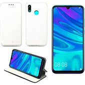 Housse Xeptio Huawei P30 Etui blanc Slim