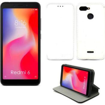 Xeptio Xiaomi Redmi 6 Etui blanc Slim