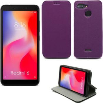 Xeptio Xiaomi Redmi 6 Etui violet Slim