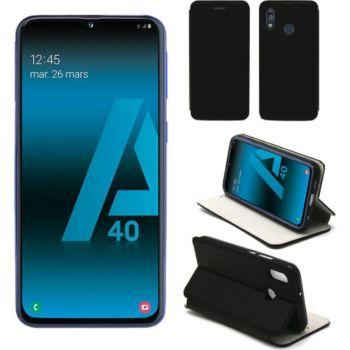 Xeptio Samsung Galaxy A40 Etui noir