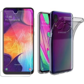 Xeptio Samsung Galaxy A40 gel tpu et vitre