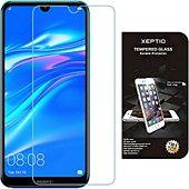 Protège écran Xeptio Huawei Y7 2019 verre trempé