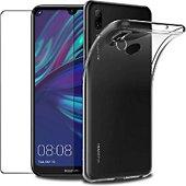 Protège écran Xeptio Huawei Y7 2019 gel tpu et vitre