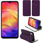 Housse Xeptio Xiaomi Redmi 7 Etui violet Slim