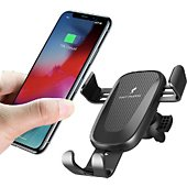 Chargeur induction Xeptio Station charge voiture Apple iPhone XR
