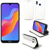 Housse Xeptio Huawei Y6 2019 Etui blanc Slim