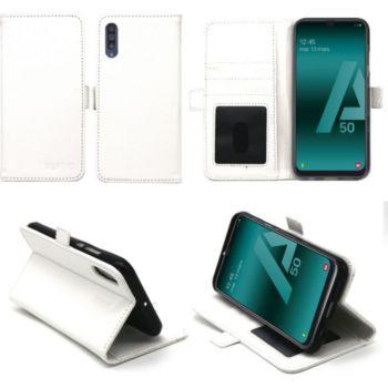 Xeptio Samsung Galaxy A50 portefeuille blanc