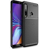 Coque Xeptio Samsung Galaxy A50 brossée noire