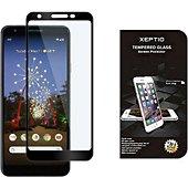 Protège écran Xeptio Google Pixel 3A vitre noir