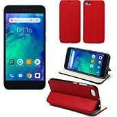 Housse Xeptio Xiaomi Redmi GO Etui rouge Slim