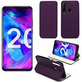 Housse Xeptio Honor 20 LITE Etui violet Slim